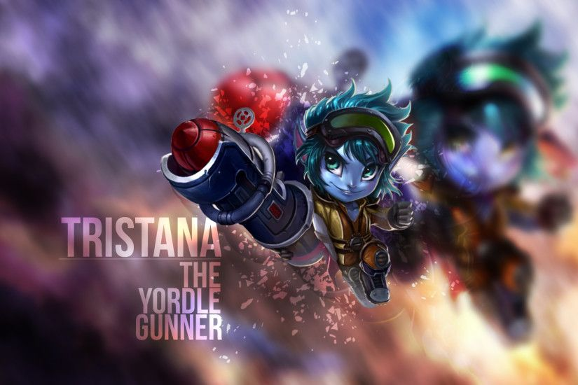 Tristana Wallpaper by OneTallor Tristana Wallpaper by OneTallor