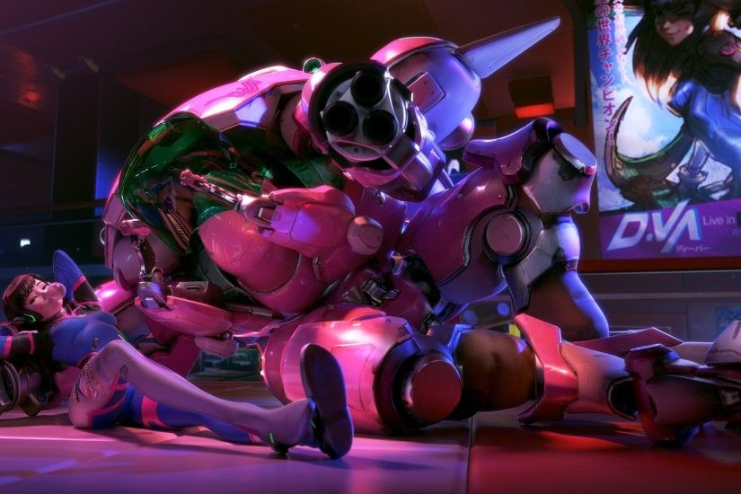 Dva Mecha Overwatch #Dva #Games #gaming #Mecha #Overwatch #wallpaper #