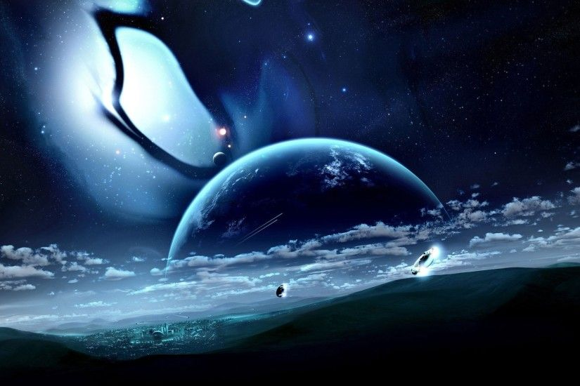 Space Fantasy HD Desktop Wallpapers 4
