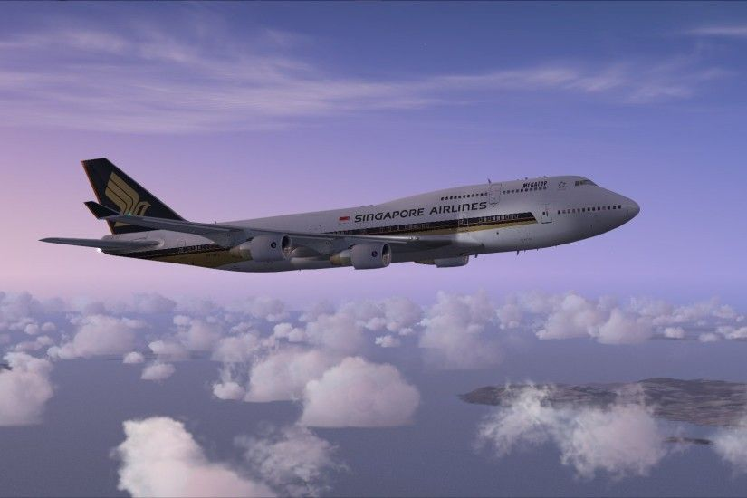 Singapore Airlines 747 Fsx wallpaper - 776882