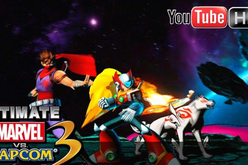 Marvel Vs Capcom Background