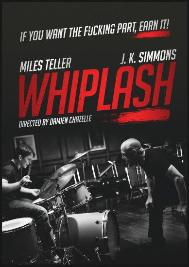 Whiplash Alternative Movie Poster Poster Spy