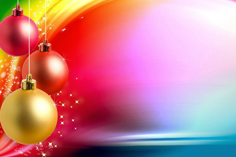 ... desktop wallpapers free Christmas balls ...