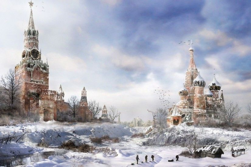 Post Apocalyptic Moscow