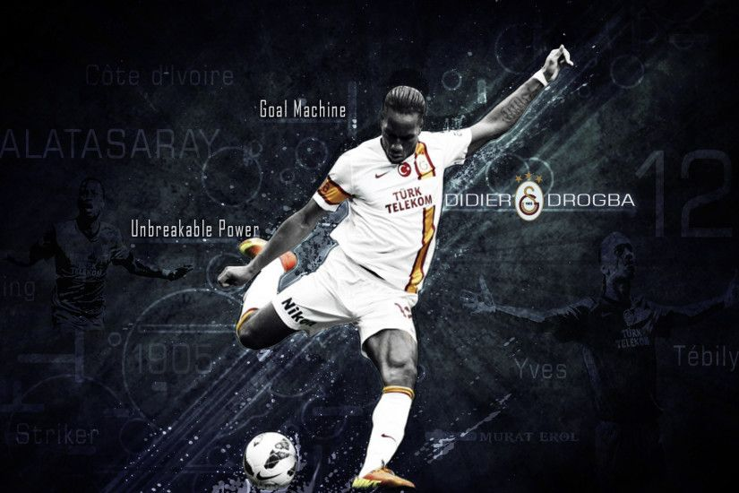 Didier Drogba Wallpaper by muraterol Didier Drogba Wallpaper by muraterol