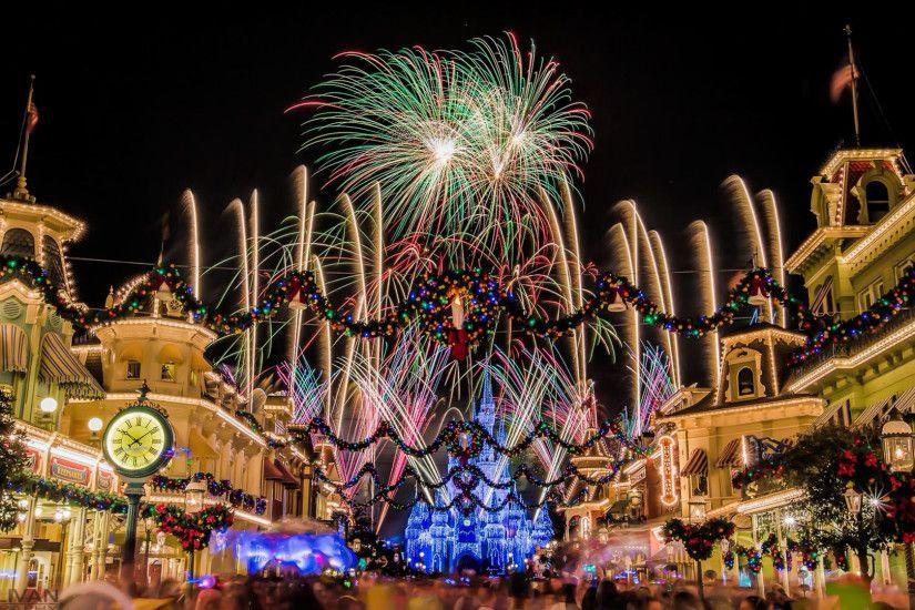 Walt Disney World Christmas Wallpaper