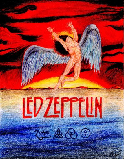 led zeppelin album covers - Google Search