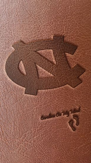 Leather Interlocking NC UNC Smartphone Wallpaper 1080 x 1920