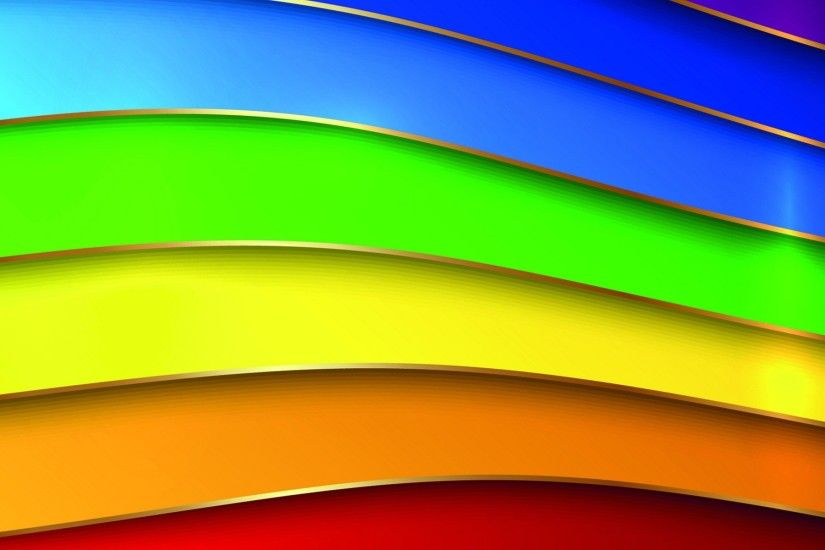 Beautiful colors line simple wide wallpapers.