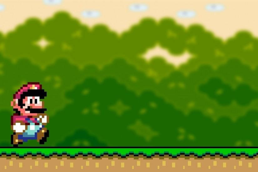 Edit Bush - super mario world images background - 1920x1080 px