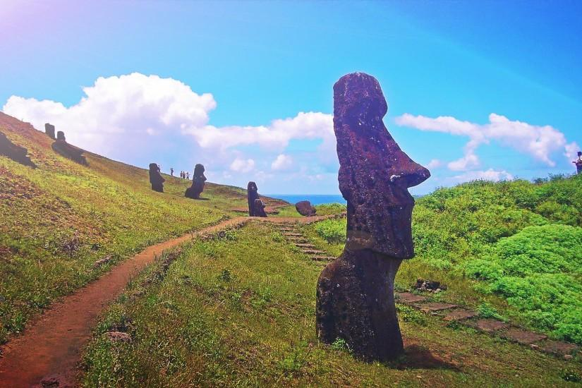 Easter Island Full HD Wallpaper 1920x1080