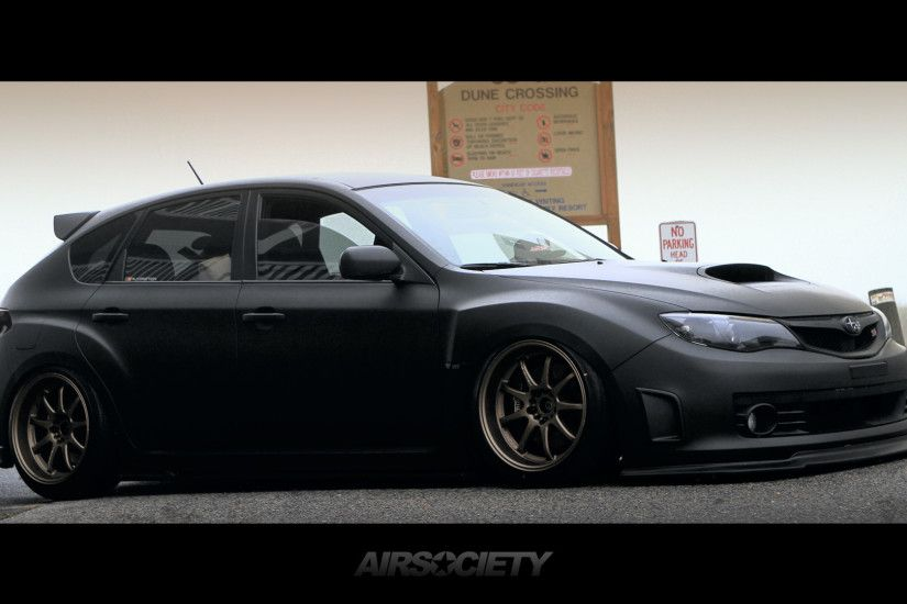airsociety-subaru-wrx-sti-matte-black-work-emotion-bagged-air-suspension- wallpaper-004b