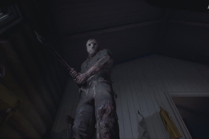 FRIDAY THE 13th The Game - Jason Gameplay (Xbox One/PS4/PC)