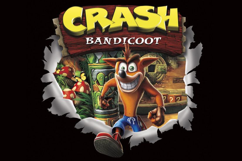 Download Wallpaper · crash bandicootnaughty dog