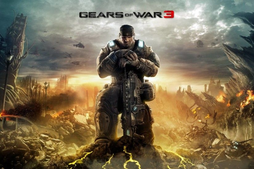 1920 × 1080 Gears Of War 3 Full HD Game Wallp #600 HD Game .
