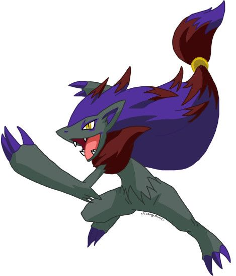 Zoroark-+Shiny+by+xXSteefyLoveXx.deviantart.com+on+@deviantART
