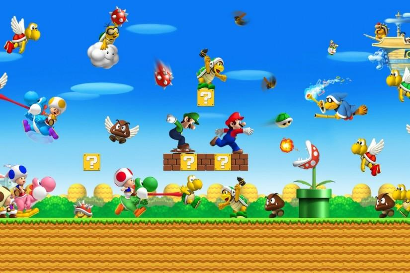 Super Mario World Wallpaper - wallpaper,wallpapers,free wallpaper .