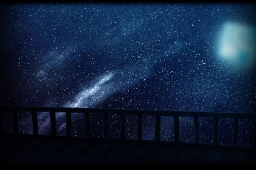 starry night background 1920x1080 free download