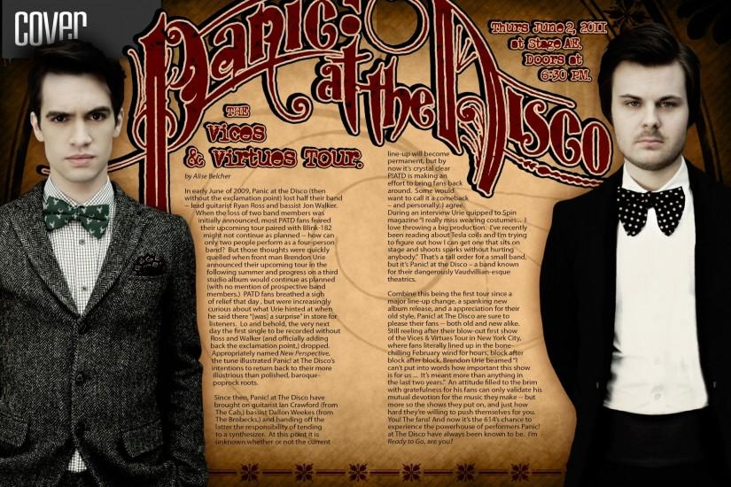 popular panic at the disco wallpaper 2125x1375