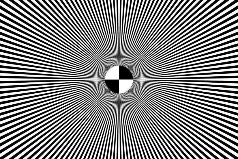 Black And White Optical Illusions Wallpaper