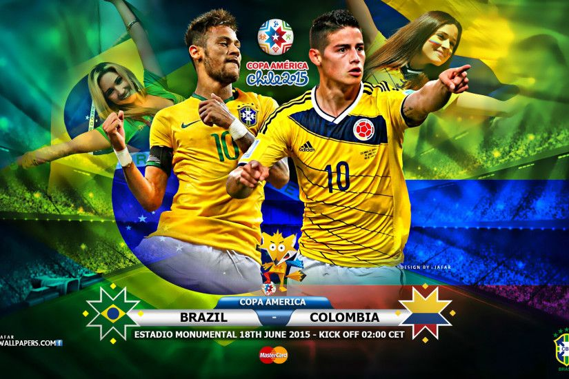 Colombia upsets Brazil 1-0 in Copa America