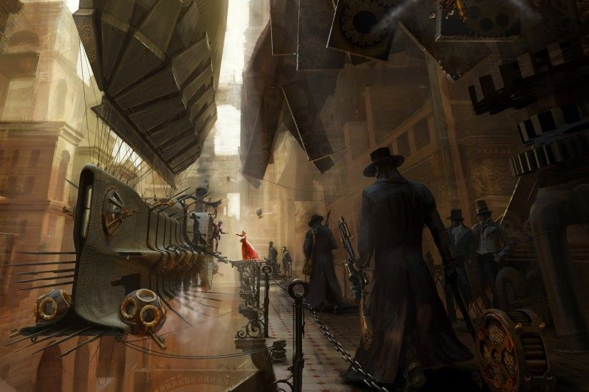 Steampunk Widescreen Wallpaper 2560x1600
