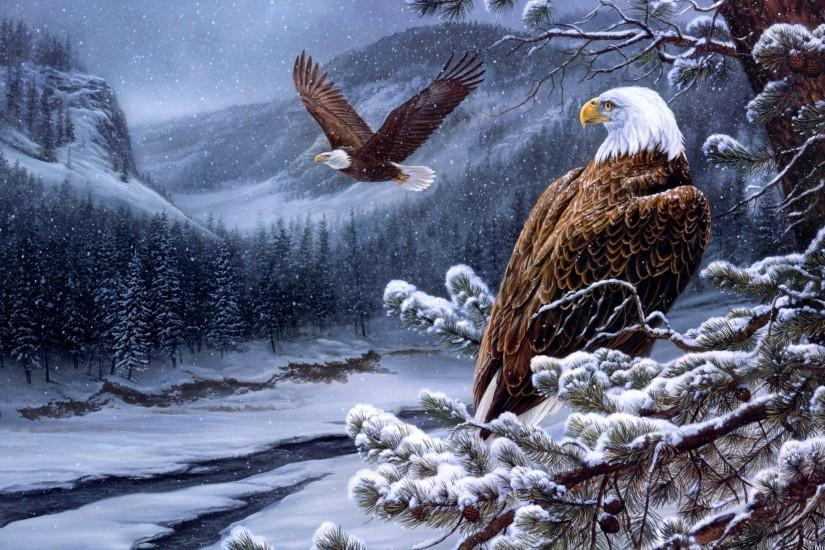 HD The Bald Eagle Wallpaper | Download Free - 103448
