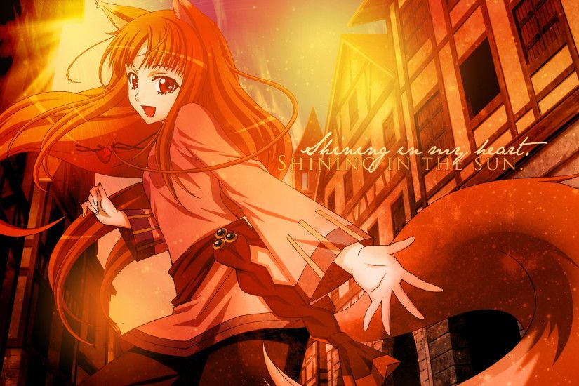 Spice | Download Spice And Wolf 1920x1200 Wallpaper | Azumi .