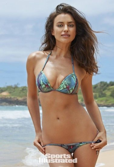 Irina Shayk Swimsuit Photos, Sports Illustrated Swimsuit 2015
