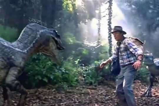 "Photo including Sam Neill (Dr. Alan Grant) issued from ""Jurassic Park III"