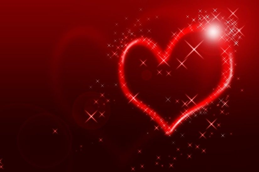 1920x1200 Wallpaper heart, line, shape, light, background, bright, colorful