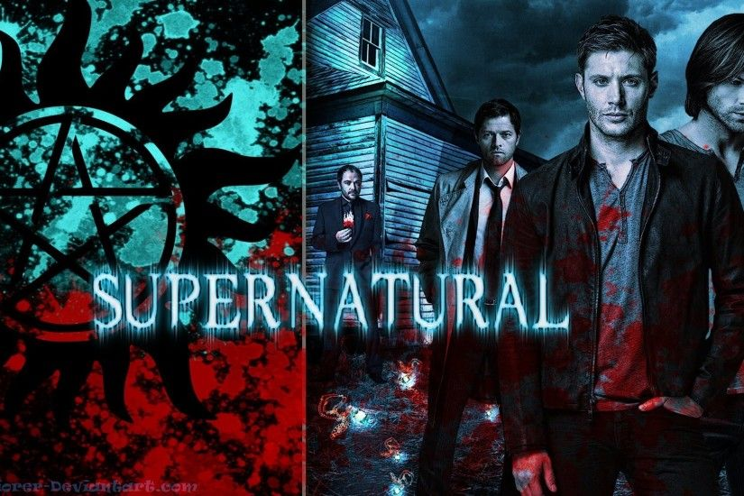 Supernatural Wallpaper by MrJuniorer Supernatural Wallpaper by MrJuniorer