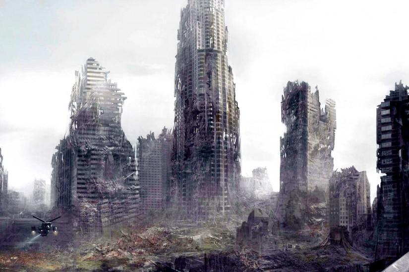 Apocalyptic City: Apocalyptic City. Stalker Wallpaper
