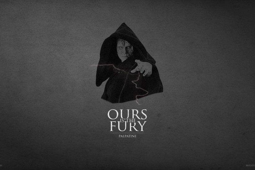 Ours is the Fury: Palpatine