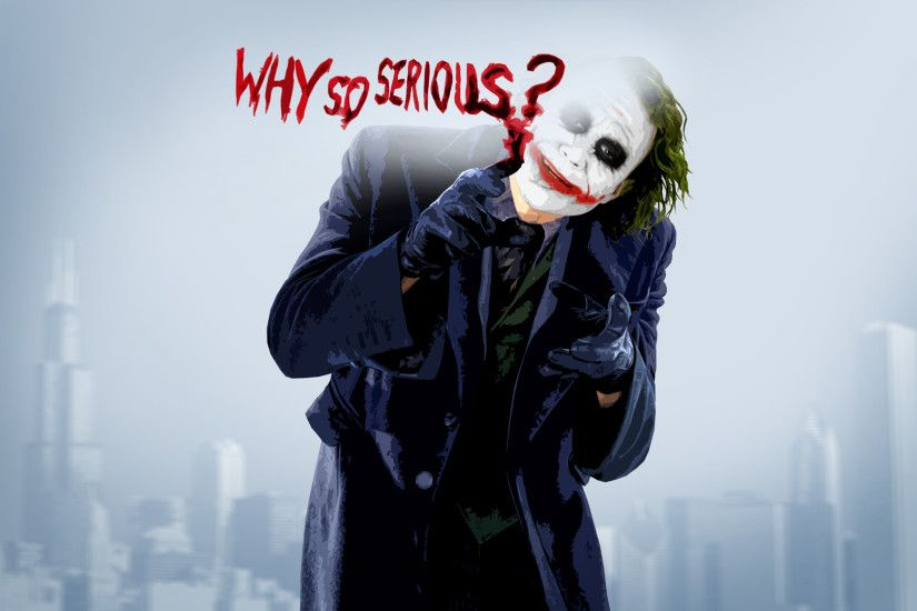 Movie - The Dark Knight Movie Joker Wallpaper