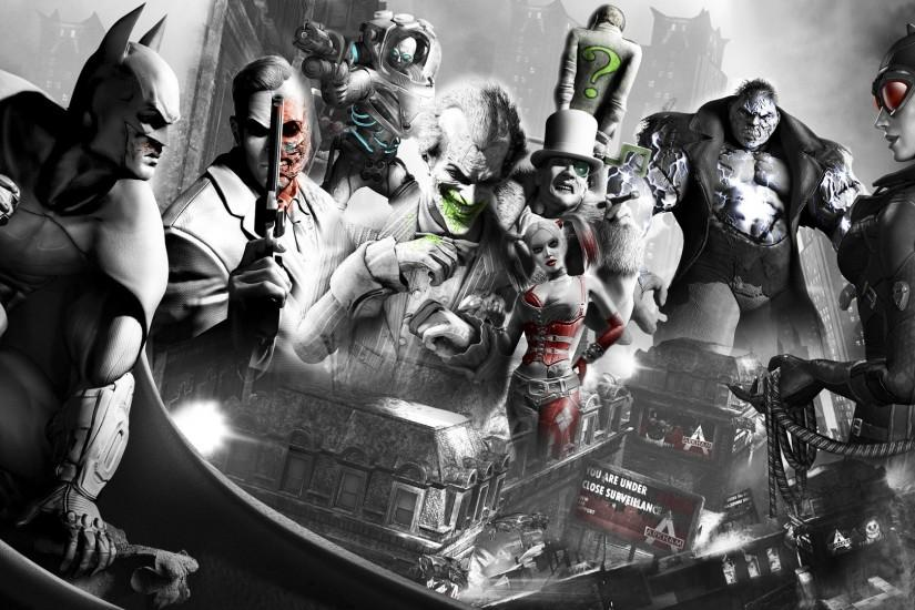 Batman video games The Joker Harley Quinn Catwoman The Riddler Batman .