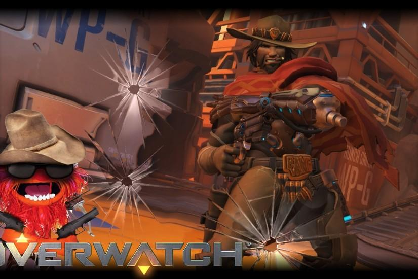 mccree wallpaper 1920x1080 photo