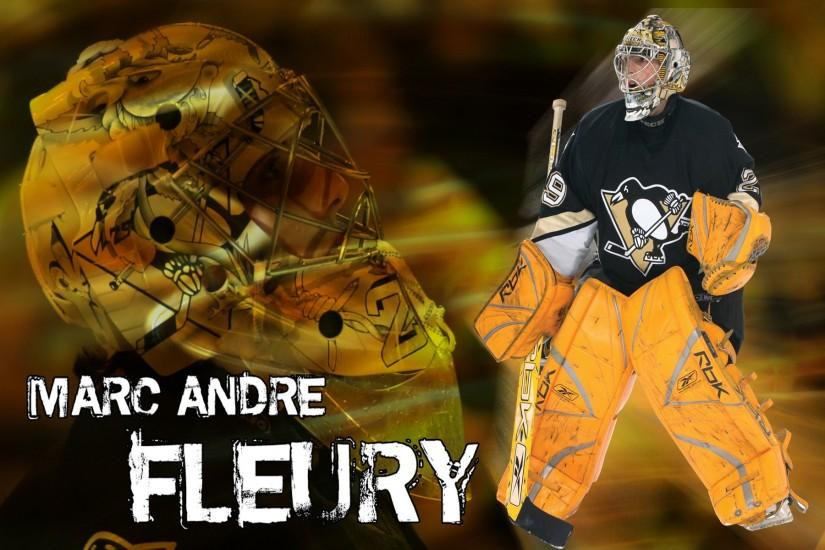 Pittsburgh Penguins Marc Andre Fleury Wallpaper 621285