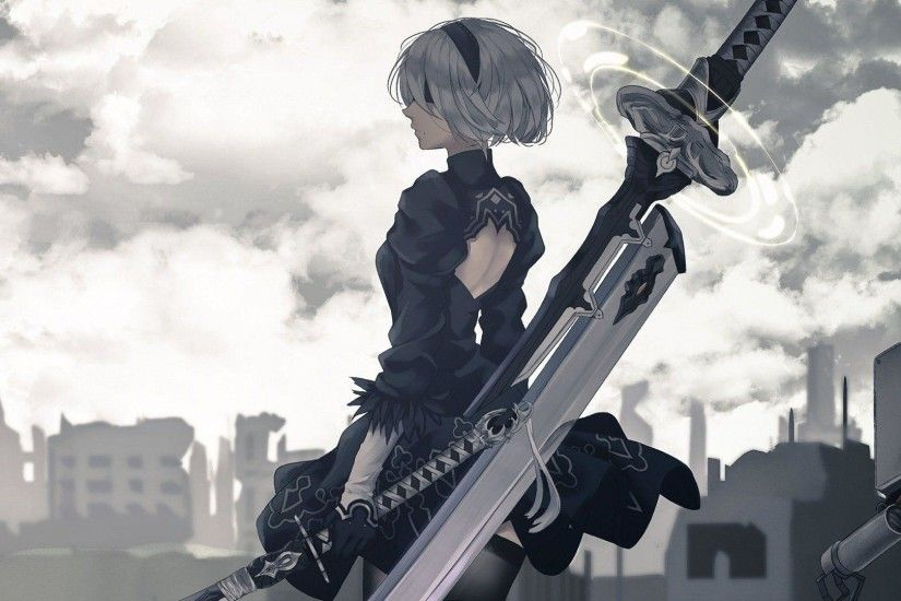 89 NieR: Automata HD Wallpapers | Backgrounds - Wallpaper Abyss