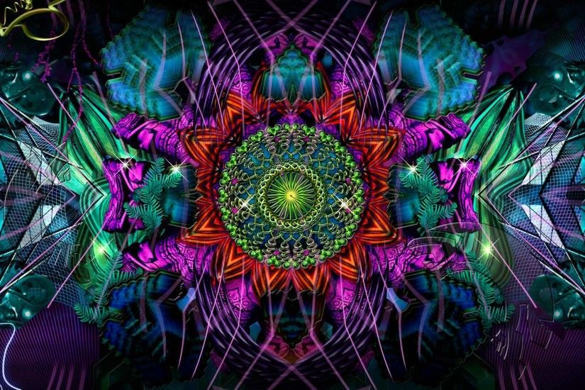 Psychedelic Peace Photo Wallpaper HD - dlwallhd.