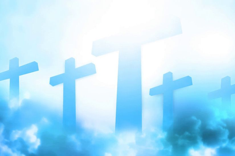 Subscription Library Heavenly Cross Animated Background