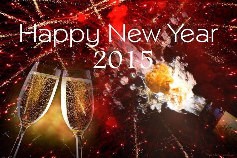 ... Happy New Year 2015 Celebration Wallpaper