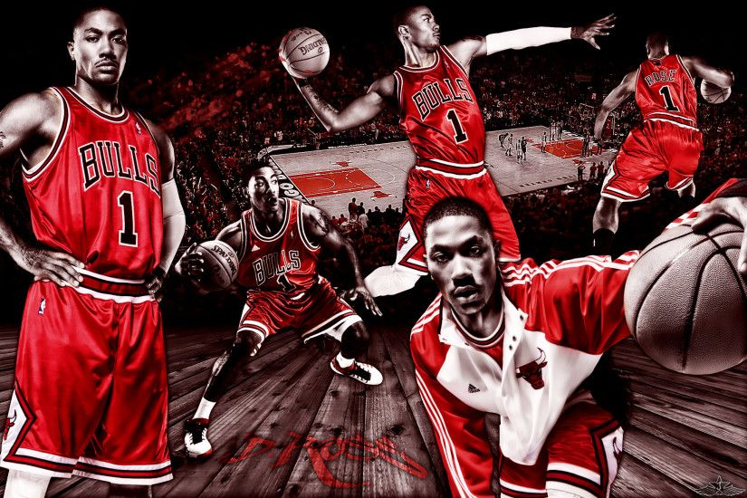 ... Wallpaper Derrick Rose of Chicago Bulls 1920x by ArtworkByJayRay