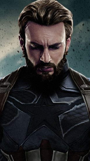 1080x1920 Iron Man, Facial Hair, Chris Evans, Avengers Infinity War,  Captain America Wallpaper for Android, Full HD