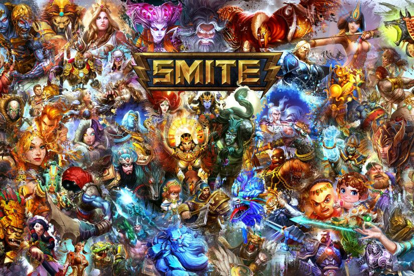 ... Smite Gods Wallpaper -Cabrakan Edition- 2560x1440 by Mossticular