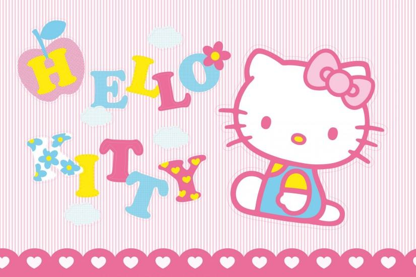 Cute Hello Kitty Background Desktop.