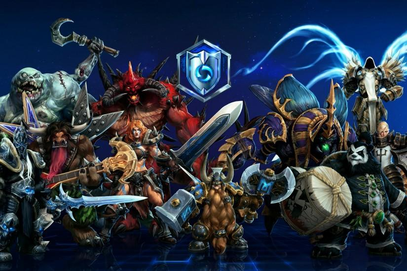 heroes of the storm wallpaper 3000x1800 download