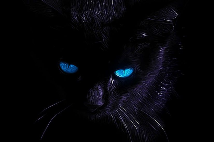 Black Cat 36 Hd Wallpaper
