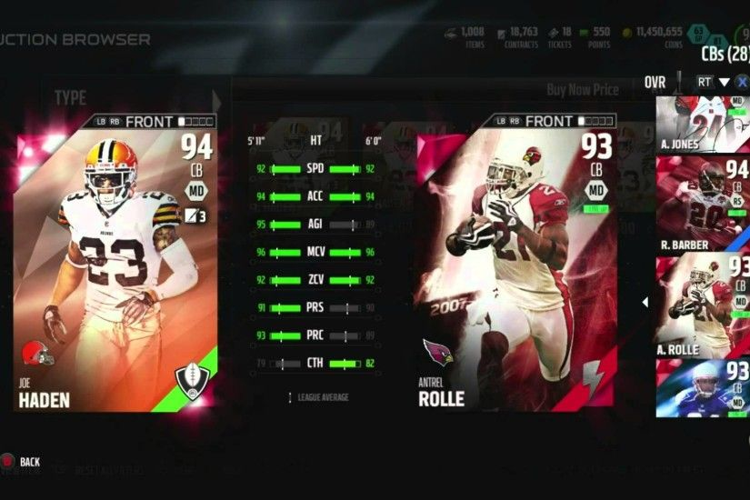 Madden 16 MUT-We Snagged 94 Draft Champions Joe Haden::-XBOX ONE Madden 16  Ultimate Team - YouTube