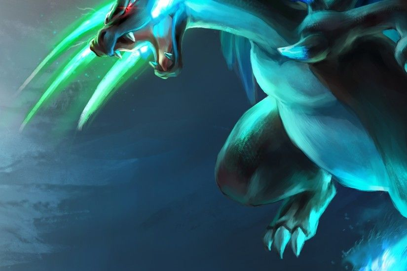 Preview wallpaper pokemon, charizard, mega charizard x, greninja, ash  greninja 2048x2048